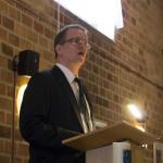 Presentatie van het essay door Hans le Grand